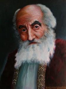 Maarten Jungmann in de rol van Aartsvader Abraham, stamvader van Joden, Christenen en Islamieten