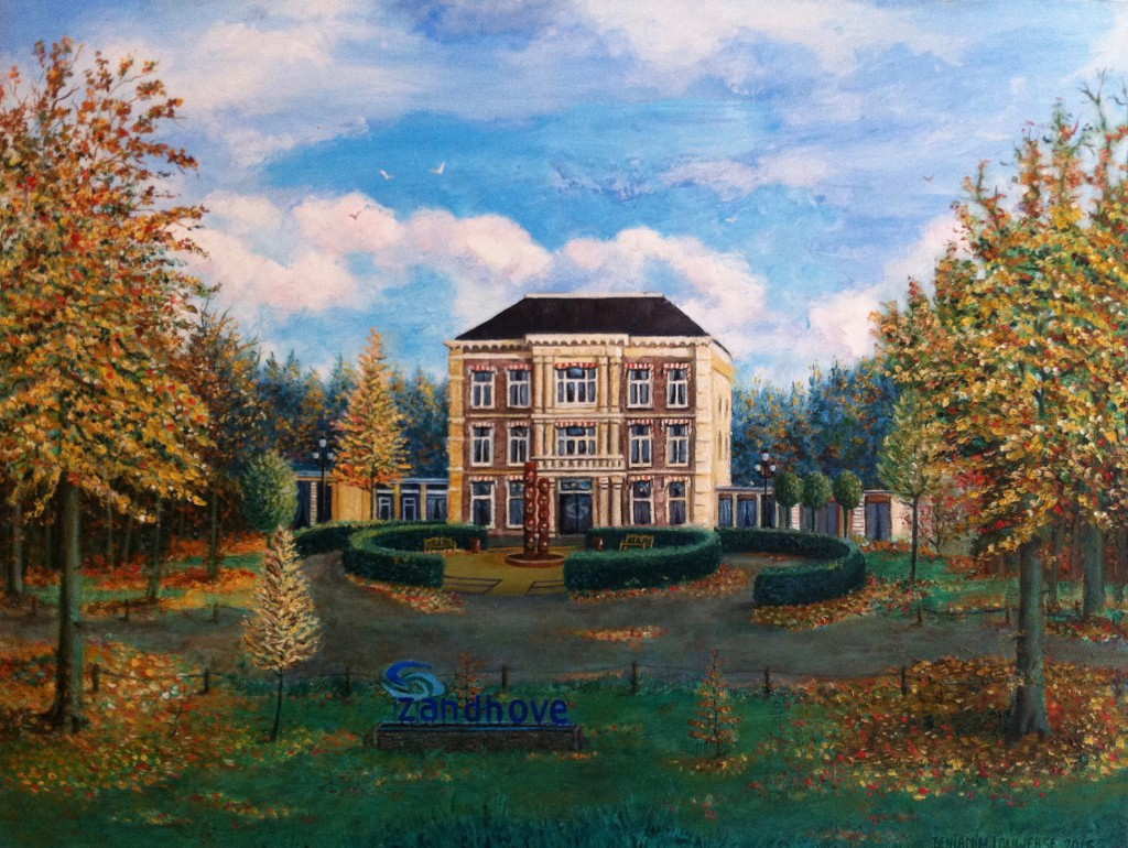 'Zandhove', Zwolle, Holland, oil paint, 60 X 80cm. 2015